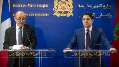 """Photo of وزير الخارجية الفرنسي يواصل في المغرب جولة """"التهدئة"""" مع العالم الإسلامي"""