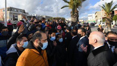 Photo of لقاء رئيس الجمهورية قيس سعيد مع مجموعة من المواطنين من متساكني حي الرفاهة بالمنيهلة