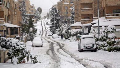 Photo of صور.. عمّان بالثوب الأبيض