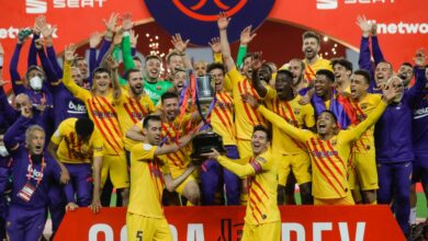 Photo of ميسي يقود برشلونة لفك صيام لعامين والتتويج بكأس إسبانيا