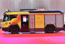 Photo of دبي تطلق أول مركبة إطفاء كهربائية في الشرق الأوسط