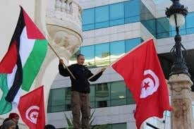 Photo of شارع الحبيب بورقيبة: وقفة تضامنية مع الشعب الفلسطيني